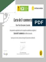 Certificado e Comerrce