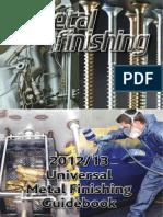 Metal Finishing Plating Book 2012-2013