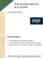 Cours - Français Accord Du Partisipe Passé - 7ème (2010-2011) Mme Feriel