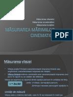 MARIMI CINEMATICE