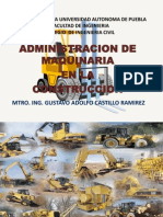 Maquinaria en La Construccion Otono 2014