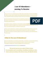 The Law Of Abundance.docx