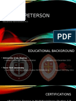website professional resume powerpoint