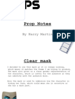 Prop Notes