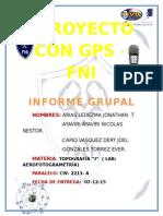 Proyecto Con Gps