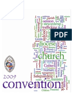 2009 Convention Booklet, Diocese of Southwest Florida