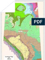 Geological Map of Alberta