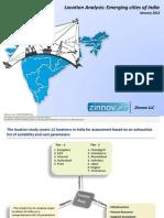 Tier 2 Cities Location Analysis