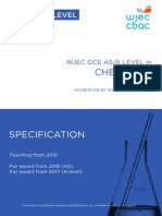 Wjec Gce Chemistry Spec From 2015