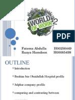 world of work 2
