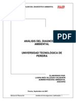 Analisis Del Diagnostico Ambiental Utp