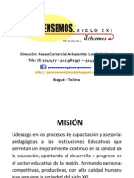MISIÓN VISION POLÍTICA DE CALIDAD