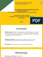 Defesa de Monografia Brenda Carvalho