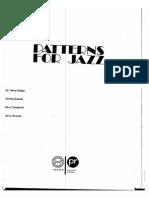 (Tutor) Patterns for Jazz - Jerry Coker