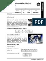 Tratamiento Térmico Acero d2 Thyrodur Thyssen Tk 2379