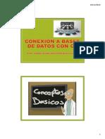 Conexión a Bases de Datos con C#
