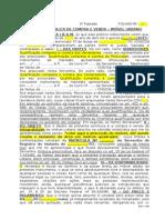 Modelo - Escritura de Compra e Venda - Imóvel Urbano