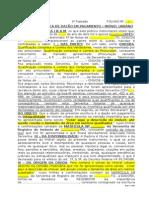 Modelo - Escritura de Dação Em Pagamento - Imóvel Urbano