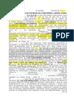 Modelo - Escritura de Extinção de Condomínio - Imóvel Rural