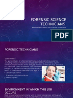 forensic technician