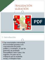 DESCENTRALIZACIÓN REGIONALIZACIÓN