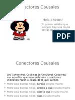 Conectores Causales - Mafalda