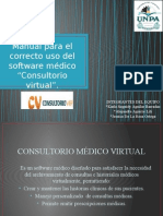 Manual Consultorio virtual