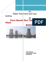 95268739 Project Report on Thermal Plant