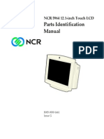 NCR 5942 LCD Parts Identification Manual