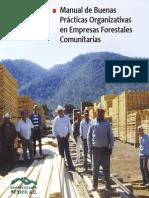 Manual de Buenas Practicas Organizativas en Empresas Forestales Comunitarias