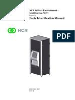 1862aNCR SelfServ Entertainment-Multifunction / 2371 Parts Identification Manual