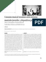 Consumo Musical Tensiones entre Radios y Dispositivos Portatiles, Bogota, 2012