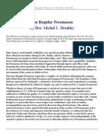 The Regular Freemason - Michel L. Brodsky