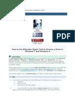 BitLocker Repair Tool