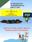 2008 Updates in Family Law Montclar
