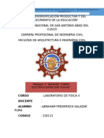 5to Laboratorio de Fisica II-UNSAAC