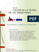 APLICACIÓN DE LA TEORIA DE LAS VIBRACIONES.