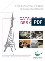 Catalogue Cours Ingenieur Centrale Paris