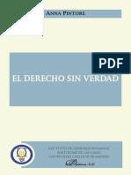 Anna PINTORE_El Derecho Sin Verdad