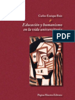 Educacion y Humanismo en La Vida Universitaria CER