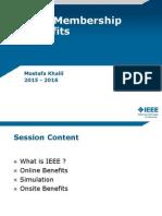 IEEE Membership Benefits 2015