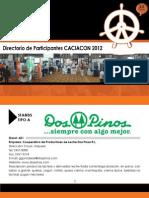 Directorio Cac Iacon 2012