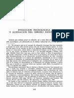 AA.VV. Evolucion Tecnologica y Alienacion