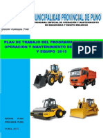 Plan Trabajo Maquinaria y Equipo Final 01 2015