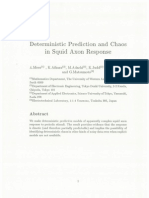 Deterministic Prediction and Chaos in Squid Axon Response