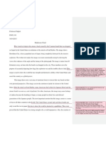 major paper 2 w  prof comments