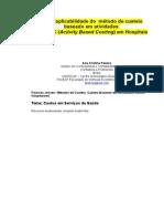 Articulo Aplicabilidad Del ABC en Hospitales Traduccion