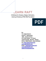 Learn Raft-RC Raft Foundation Analysis Design and Drawing Software