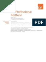 cv professional portfolio for prof  photo