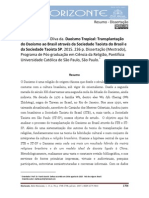 "RESUMO de ""Daoismo Tropical"""